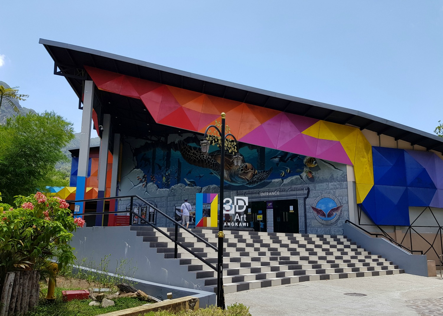 Exterior of Langkawi Art in Paradise 3D museum at Oriental Village
