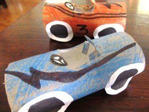 MW Toilet Roll Racing Cars4