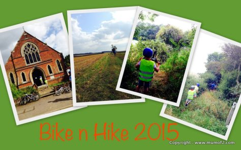 historic churches bike n hike, mumof2