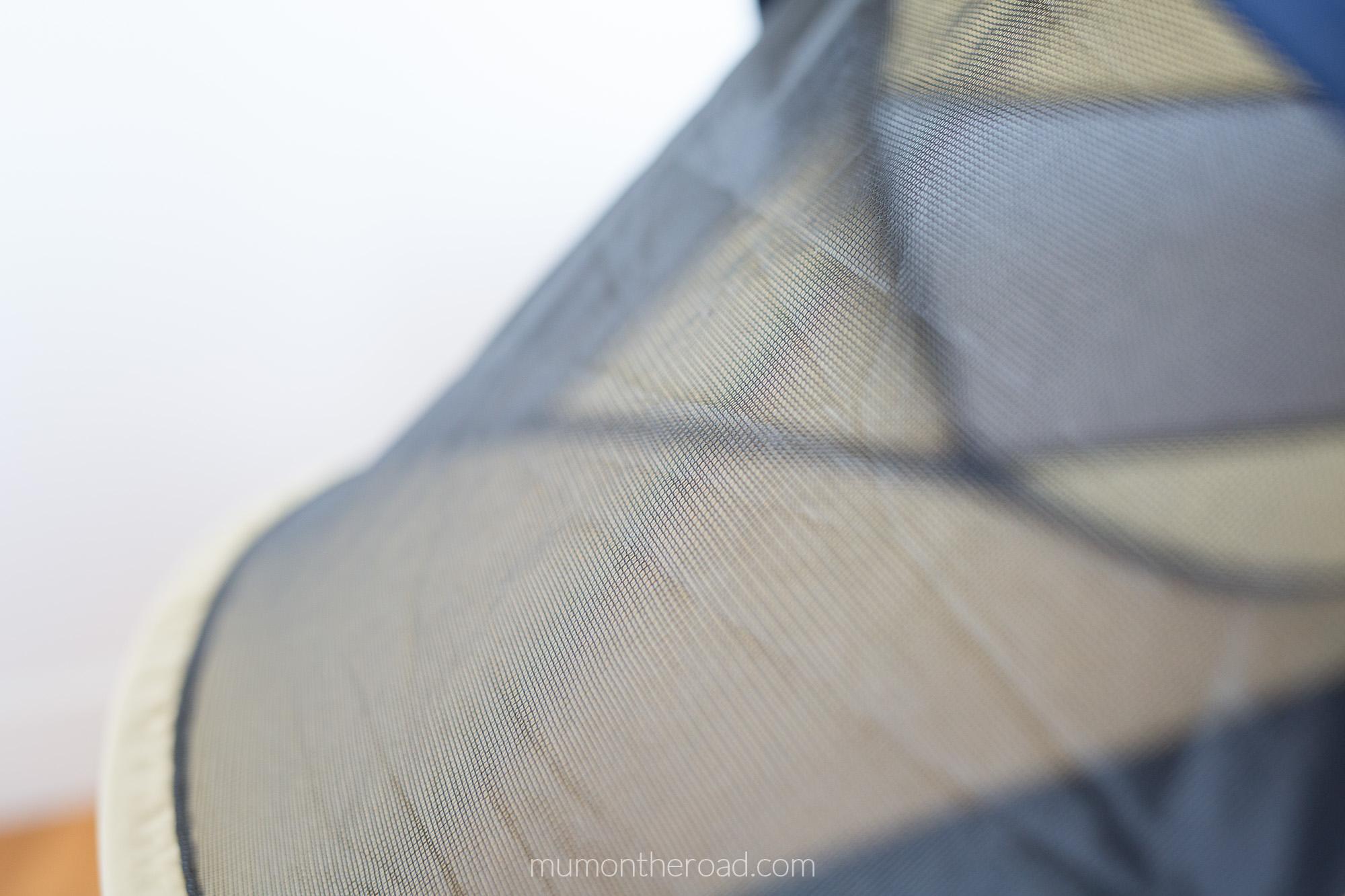 Plafond moustiquaire de la tente Deryan Travel Cot Baby