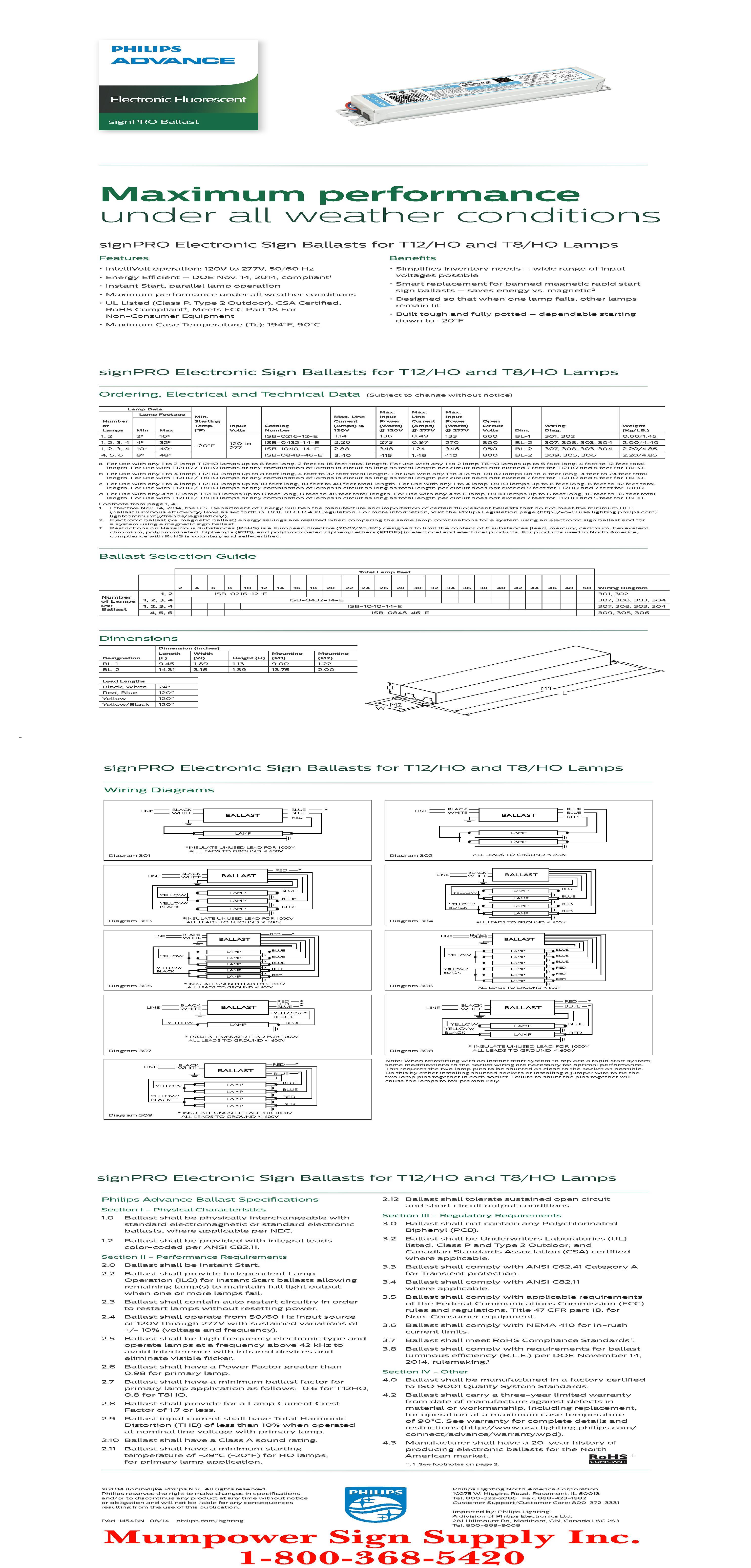 Ballast Wiring Diagram Additionally Philips Advance Ballast Wiring