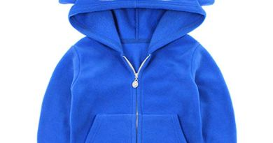 Baby Boys/Girls Coat Toddler Cotton Jacket Cute Animals Shape Hooded Outerwear