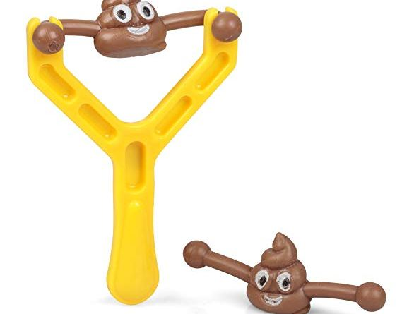Smiley Poo Slingshot