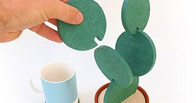 Set of 6 Cactus Mug/Coffee/ Tea Coasters with Flower Pot Holder Table Decoration Creative Gift