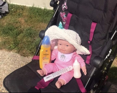 Experiment Shows The Danger Of Covering Babies Pram