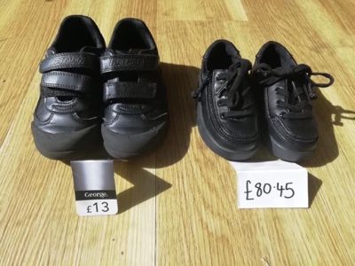 A Story About The Cost Of Disability Told Through The Tale Of Two Pairs Of Shoes