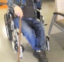 Elderly Man Left In Hospital Waiting Room