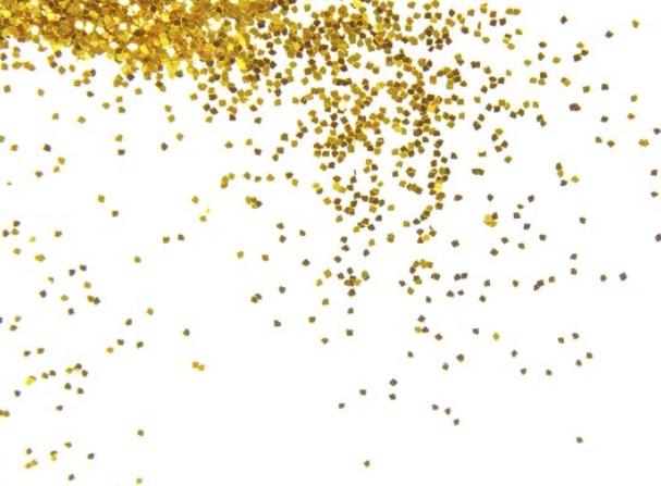 gold glitter mum