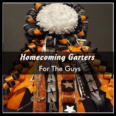 homecoming garters for the guys