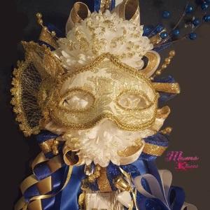 The Masquerade Homecoming Mum Double