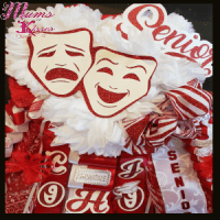 homecoming mum for drama and theater