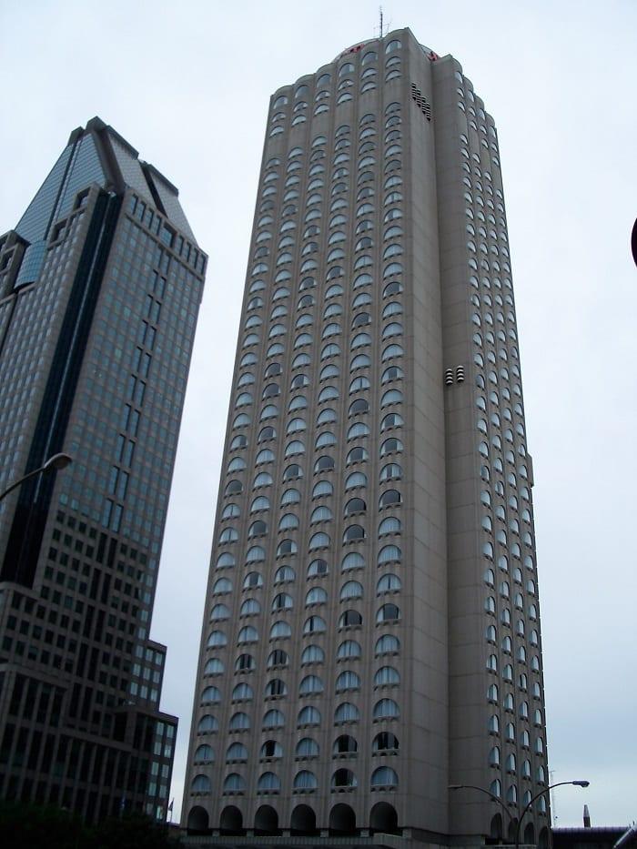 Marriott hotel in Montreal