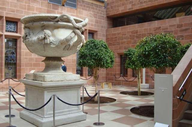 Warwick vase, Burrell Collection