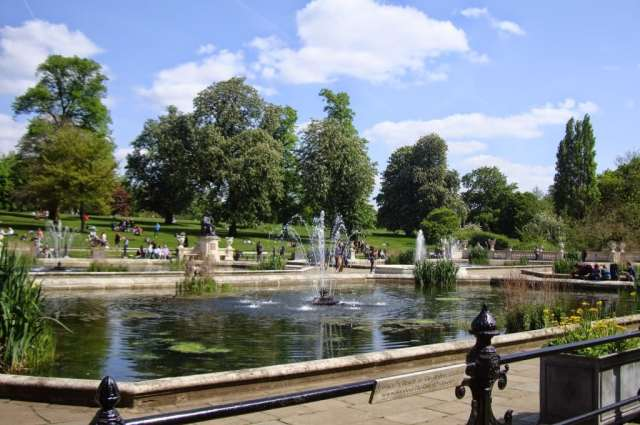 Italian Gardens Kensington