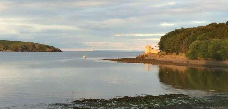 Balcary bay evening