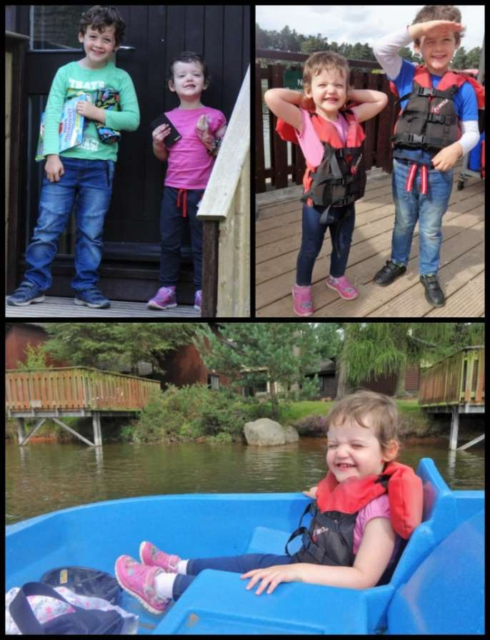 Center parcs pedalos