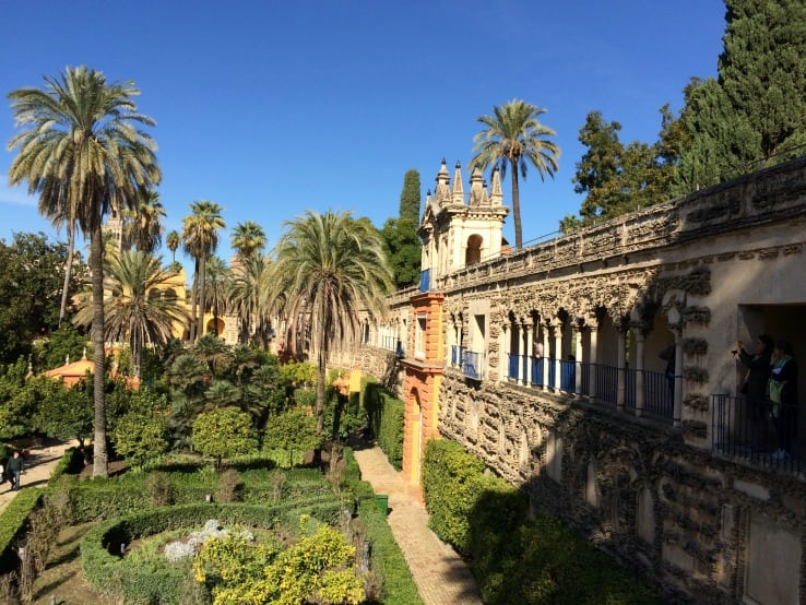 Gardens of Real Alcazar