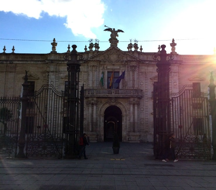 Royal Tobacco Factory in Seville (University)