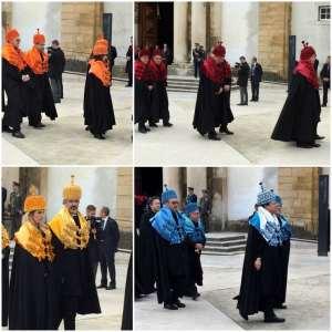 Coimbra university honorary degree ceremony