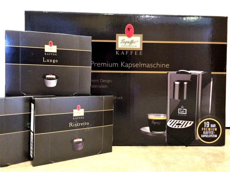 Kaffee leysieffer machine and pods