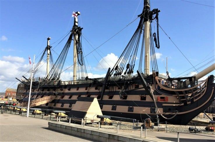 HMS VIctory POrtsmouth historic dockyard