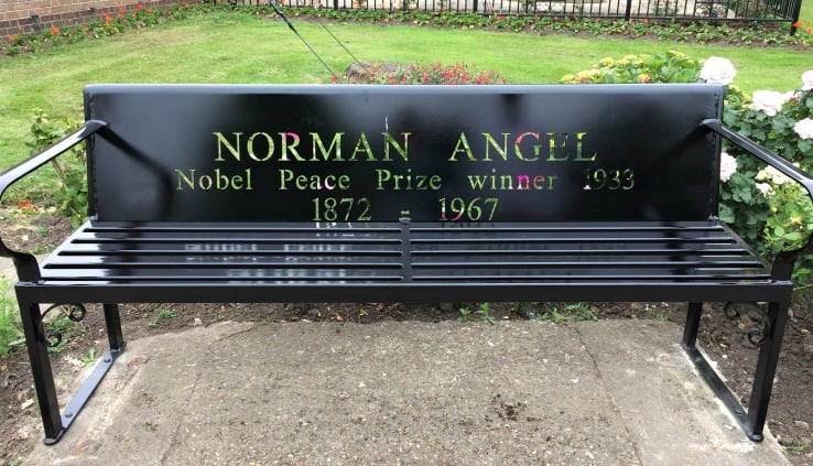 Norman Angell bench