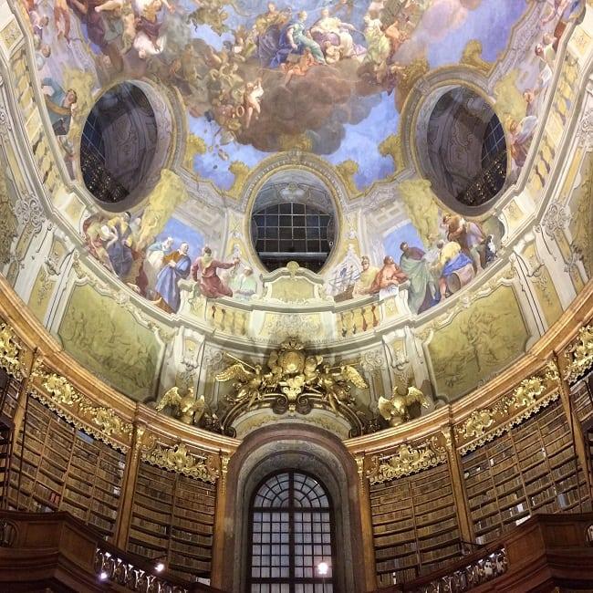 Prunksaal, Austria State Libray, Vienna