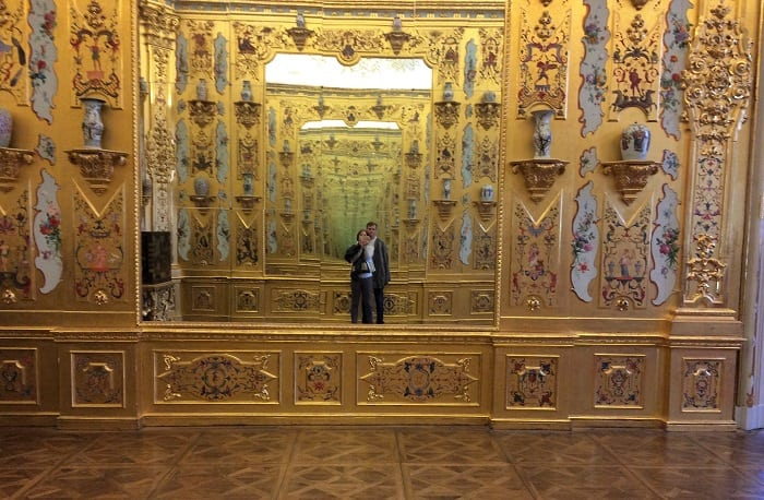 Golden Room, Belvedere, Vienna