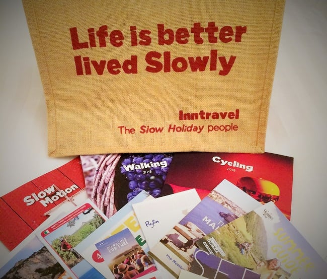 Inntravel Discovery Day bag and brochures