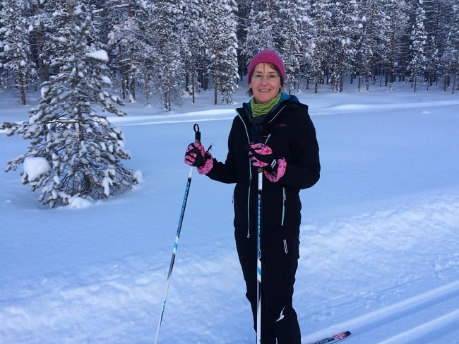 cross-country skiing clothes