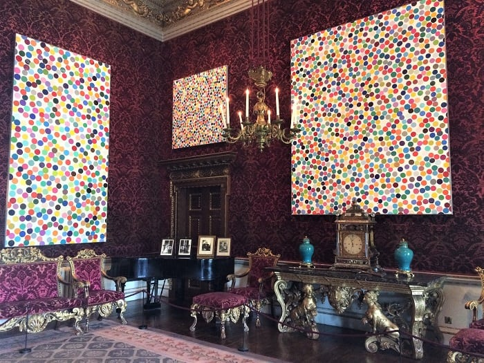 Damien Hirst Colour Space paintings at Houghton Hall