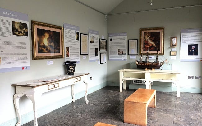 Nelson Museum at The Hoste
