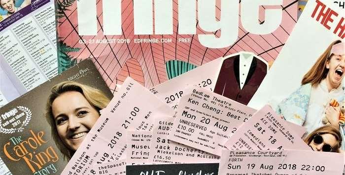 tickets from edinburgh fringe