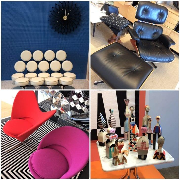 Furniture designs in VitraHaus