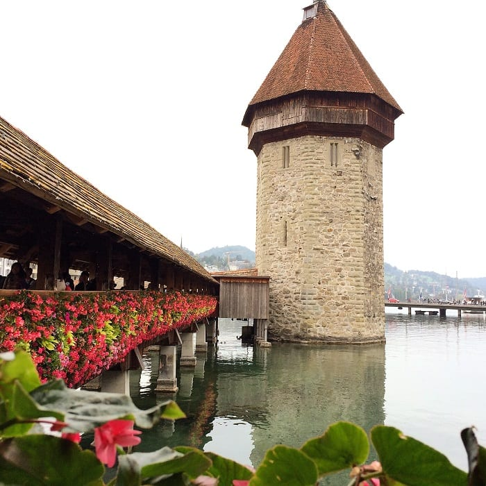 Chaepl bridge, Lucerne, Switzerland