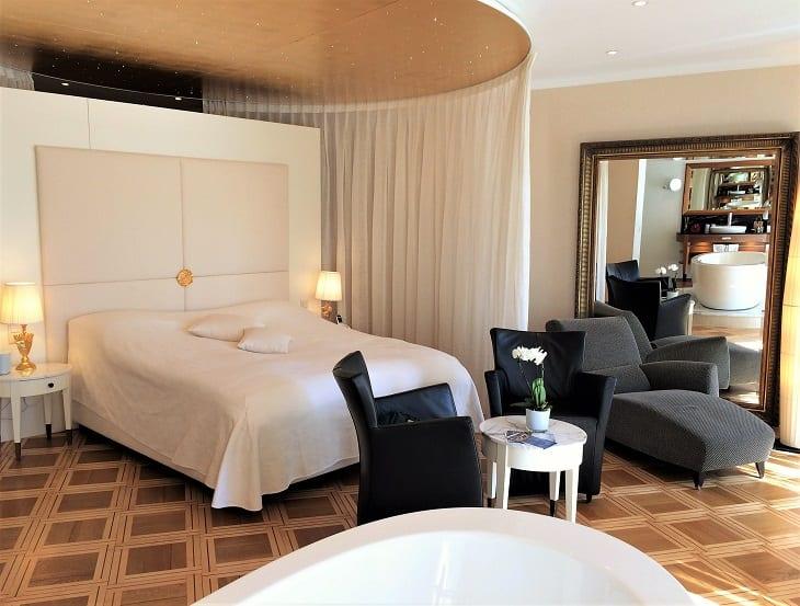 Romantic suite, Hotel des Balances, Lucerne
