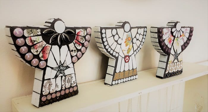 Angels from Box of Frogs Mosaics