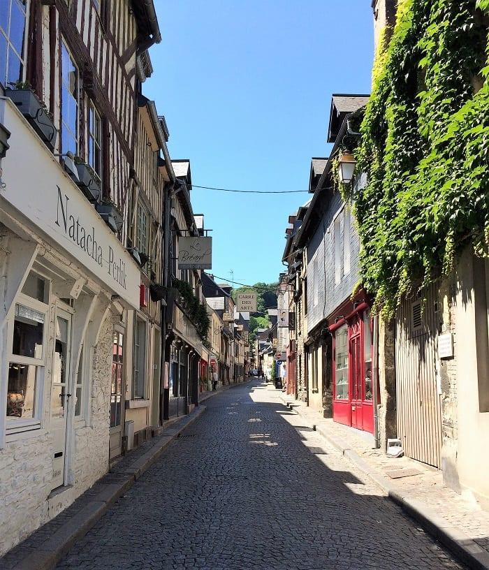 Rue de Puits in Honfleur