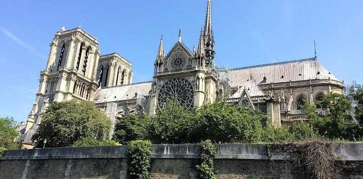 Notre Dame in June 2018
