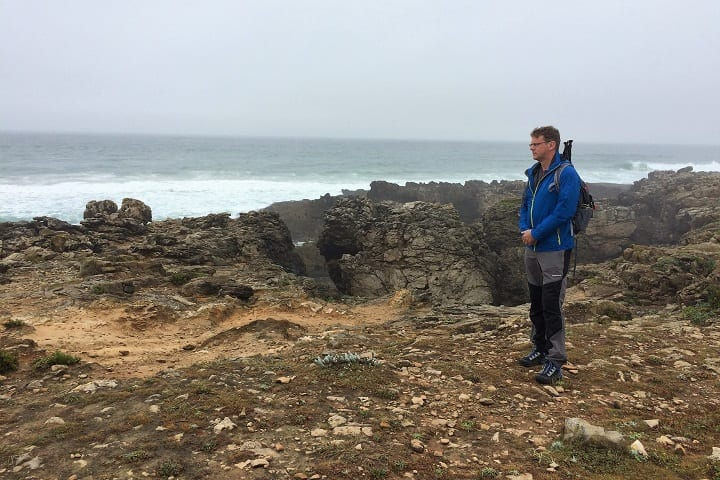 Cabo Rosa - start of walking trail