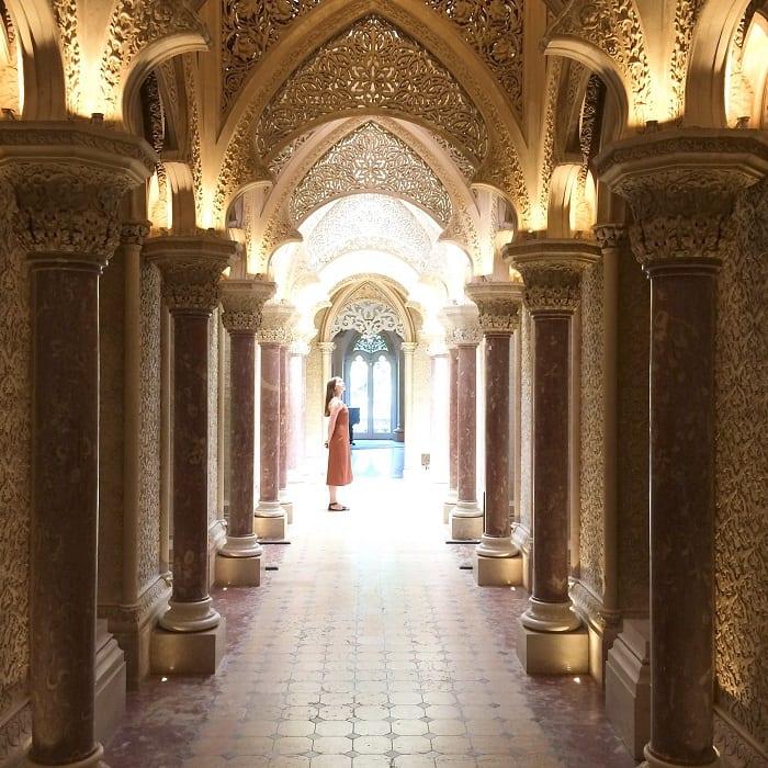 Inside Monserrate Palace, Sintra