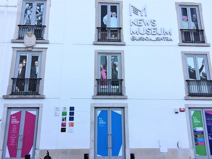Exterior NewsMuseum, Sintra