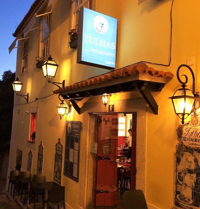 Tulhas restaurant, Sintra