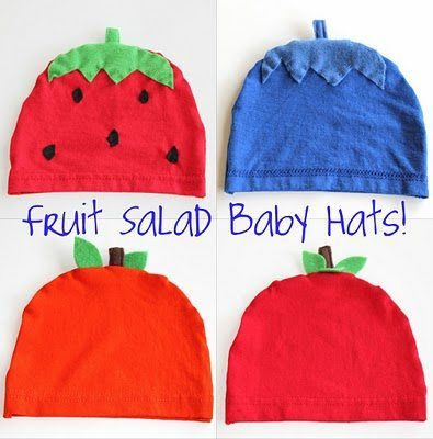 Fruit Salad Baby Hat Free Pattern, Free baby clothes patterns, Mums Make Lists