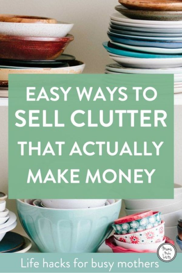 8 point plan for making extra money from decluttering... We share our top tips for making money from decluttering, the key is to be smart and sell different things in different ways, read how... #declutter #Organize #moneysaving