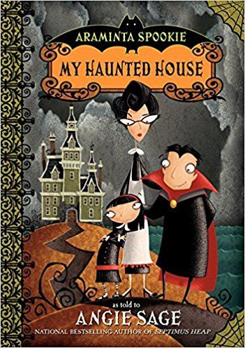 Araminta Spookie- Books to give as gifts to children who have finished reading Harry Potter. This is a roundup of great character books for kids to read if they loved Harry Potter #HarryPotter #Kidsbooks #books #Christmas2017 #ChristmasGifts #Christmas
