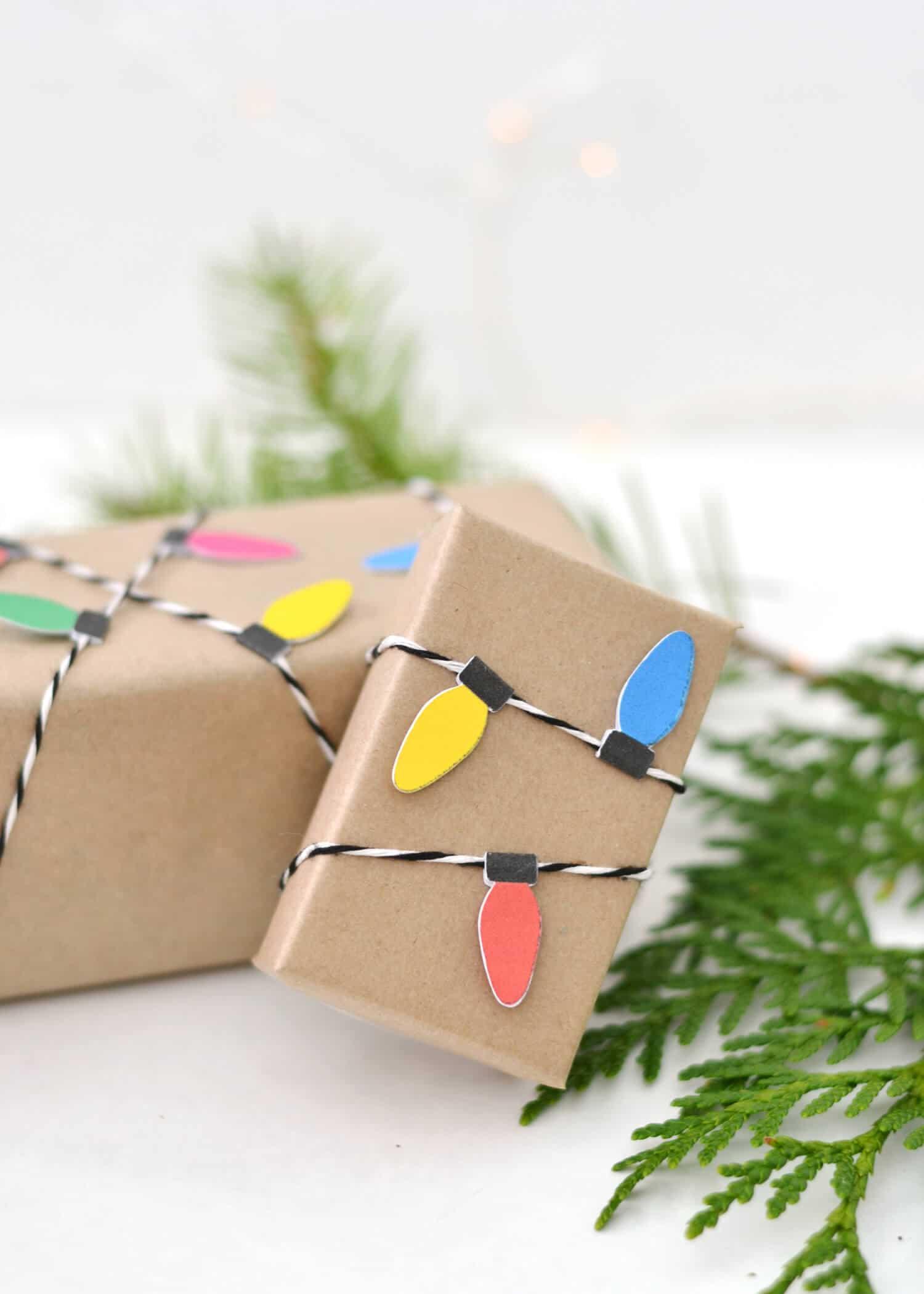 Boxwood Avenue gift wrap Christmas