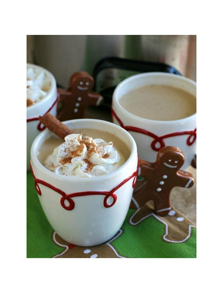 Eggnog lattes slow cooker
