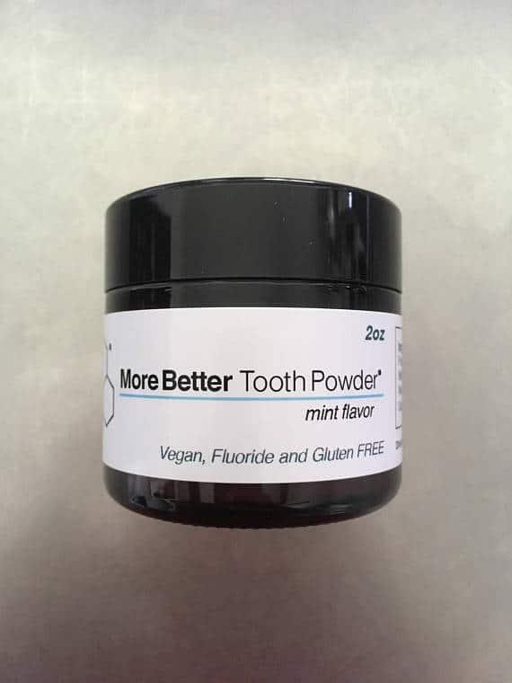 MoreBetter Toothpowder #ZeroWaste #PlasticFree