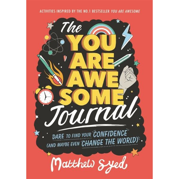the You Are Awesome journal - more memorable than traditional party bag favours